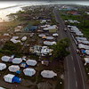 Tacloban City tent city located in San Jose