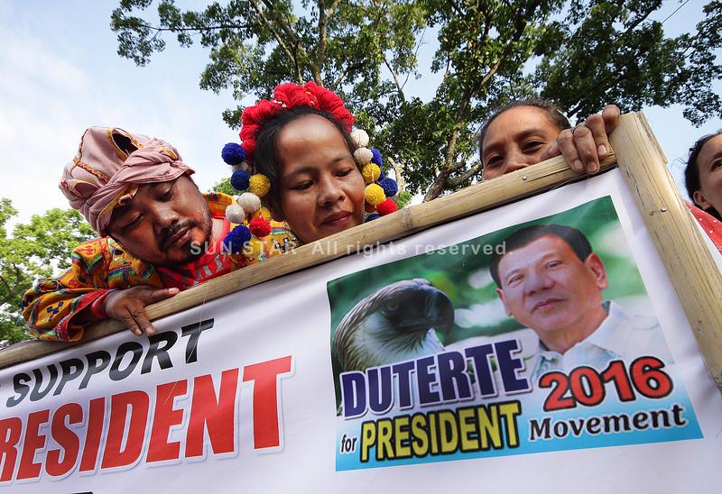 Ubo-Manobos also want Duterte as president