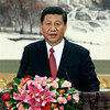 In this photo released by China's Xinhua News Agency, new Communist Party General Secretary Xi Jinping speaks at the press conference at the Great Hall of the People in Beijing, China, Thursday, Nov. 15, 2012. Xi became leader of China on Thursday, securing the Communist Party's top spot and oversight of the military in a political transition upset by scandals that have added fuel to public demands for change as the country faces slower economic growth. (AP Photo/Xinhua, Ju Peng)NO SALES