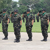 CAGAYAN DE ORO. 4th Infantry Division turn-over of command on Tuesday. (Joey P. Nacalaban)