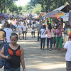 CAGAYAN DE ORO. Hundreds of people troop to cemeteries Thursday to visit their departed loved ones. (Joey P. Nacalaban)