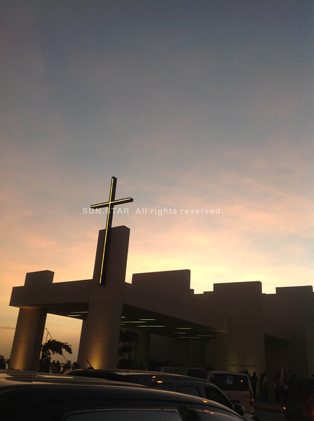 CEBU CITY. A view of the Chapel of San Pedro Calungsod after the Holy Mass on Thursday afternoon. (JAC)