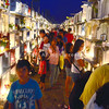 Some people prefer to visit their departed loved ones in Carreta Cemetery, Cebu City at night not only because it is less crowded but because it lets them avoid the scorching heat. (Ruel Rosello of Sun.Star Cebu)
