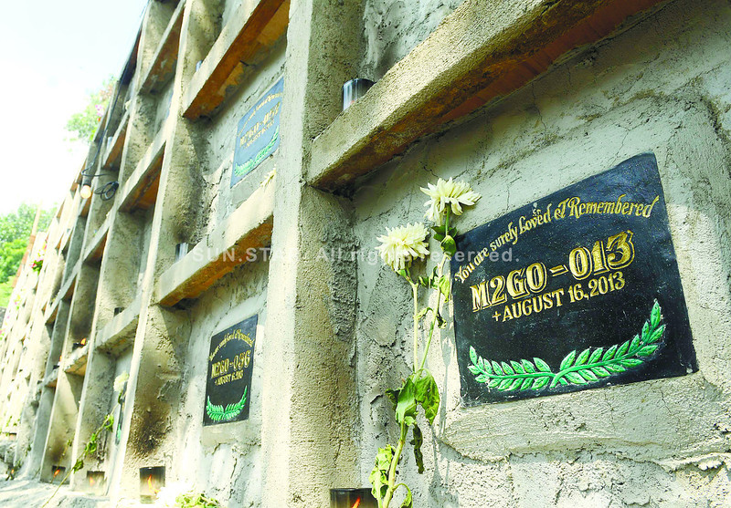 Except for representatives of 2GO Group Inc. who visited the burial site at the Carreta Catholic Cemetery in Cebu City, no family members or relatives have come to visit the remaining unidentified victims of the sinking of the MV St. Thomas Aquinas. (Arni Aclao photo/Sun.Star Cebu)