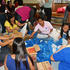 Repacking of goods in preparation for Typhoon Yolanda