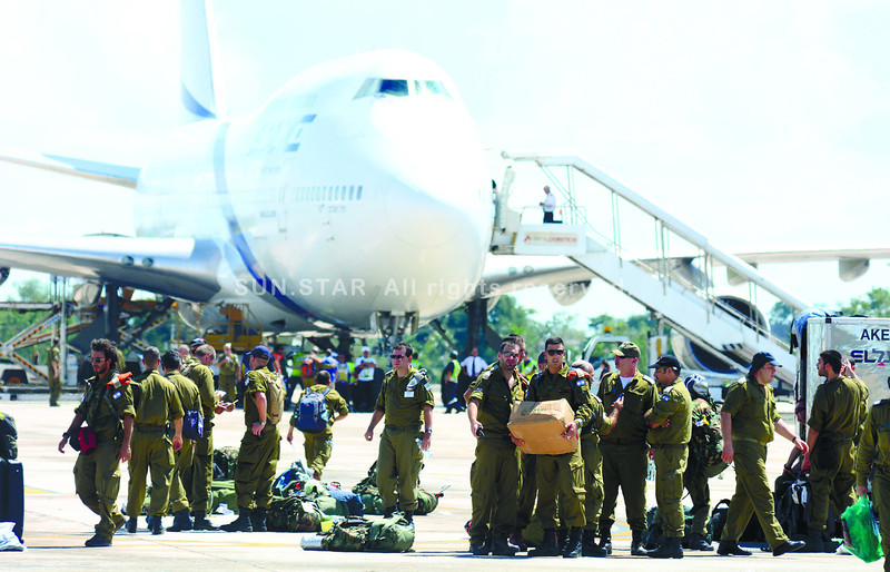 The government of Israel has sent a medical team of 150 men and women who will be deployed to northern Cebu, where Typhoon Yolanda wreaked damage of great magnitude. (Alex Badayos photo/Sun.Star Cebu)
