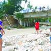Saliring Bridge damaged by Queenie