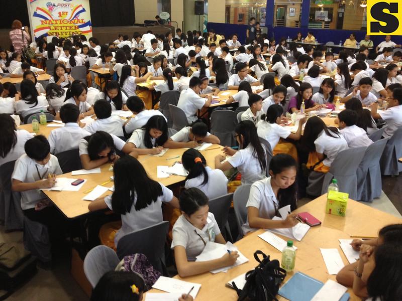 National writing day at SM Pampanga