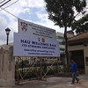 Holy Angel University tarpaulin