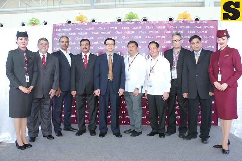 Qatar Airways inaugural flight