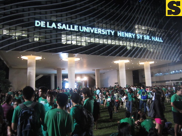 'Animo Night' pays tribute to La Salle's UAAP success. (Virgil Lopez photo)