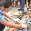Victim of vehicular accident in Davao City