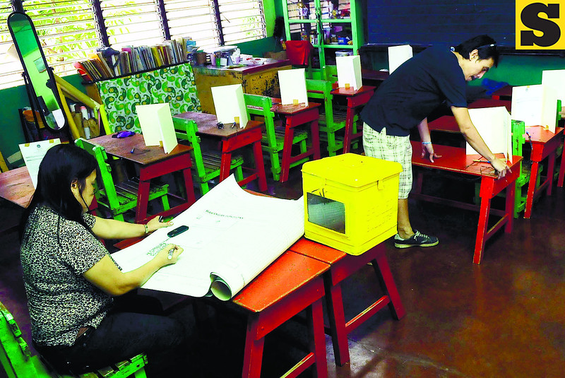 Precinct ready for barangay elections
