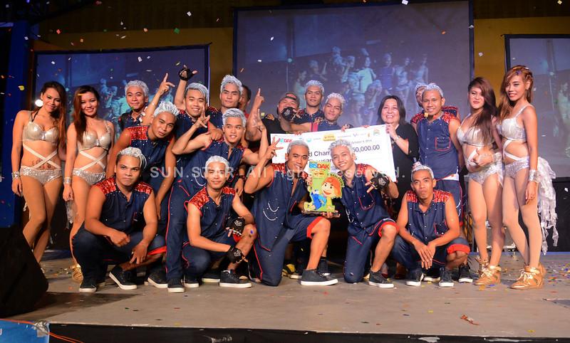Barangay Tangke Talisay, champion of Bangga sa Sayaw Metro Cebu Edition 2014