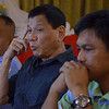 "DAVAO. Vice Mayor Rodrigo Duterte called a press briefing on Wednesday night at the Grand Men Seng Hotel announcing the P5-million reward money of wanted carnap leader Ryan ""Baktin"" Yu. (King Rodriguez)"