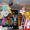 BACOLOD. Entries for ABS CBN's mask-making contest are on display at Robinsons Place until October 21. (Merlinda A. Pedrosa)