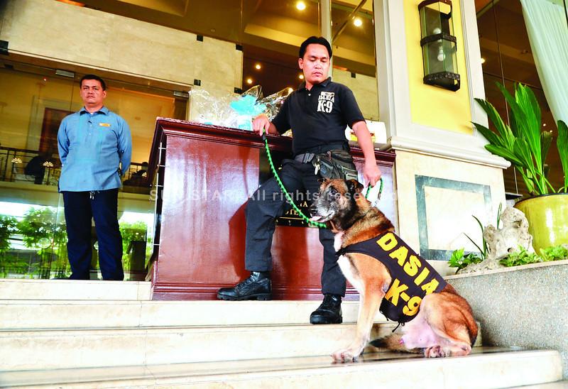 Seguridad sa Royal Mandaya Hotel