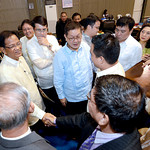 DAVAO. City Vice Mayor Paolo Duterte, along with other members of the 17th City Council, convey their best wishes to colleague, Councilor Melchor Quitain, who announced his resignation from  ...