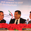 Clark Airport and Emirates officials