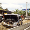Road accident at Araneta Street, Bacolod City