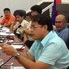 Vice Governor Dennis Pineda in health committee hearing