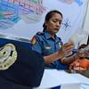 Police station commander handling case of minor