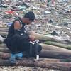 Salvaging timbers in Zamboanga