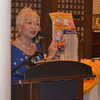 "BACOLOD. ""This is our story… the story of Philippine legend,"" says Dr. Cecilia Locsin Nava during the sold-out launch of Margosatubig last Friday at the Negros Museum. ""It is an epico-historical novel, which tells about the legend of Maria Cristina Falls and the story of the relationships between Ilonggos and Muslims."" (Gilbur L. Guarte)"