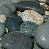 "Novice grade open........ ""Glistening Rocks"" by Maryann Williams.......Acceptance<br /> <br /> Glistening rocks<br /> Good use of depth of field here and sharp and well exposed so technically a good image. I'm slightly troubled by the composition though. It's a superficially interesting shot of the rocks but I kept on bouncing around looking for a point of focus, the white rock, the green spotted rock or the dark green rock? A good effort but I'd like to see more work on the composition next time. Try just the white rock in a see of uniform coloured grey or green rocks that don't distract from the subject. This is also one area where the rule of thirds falls down. Centring such an image is fine. A good acceptance at Novice level."