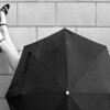 """N grade Set Subject / Umbrellas........"""" Miss Molly Under The Brolly """"  by  Brenda King........Not Accepted.<br /> <br /> NON ACCEPT_ Similar to another entry but not as good.try reversing it for more impact."""