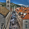 """Open Subject, A grade........"""" Dubrovnik """"  By  Brian Dowling........Merit."""