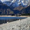 WINTER AT HAWEA  039_N<br /> Lovely use of textures and shapes to lead us through the picturesque landscape.  Unusual use of vertical format helps to. Great use of triangles in the composition.  Well seen.  Merit