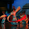 Brian Dowling TANG DYNASTY SHOW XIAN CHINA<br />  vibrant colours form an almost perfect triangle through the centre – the background is detailed enough to set the scene, but subdued enough not to intrude or distract – of course the clever, subtle lighting is all down to the lighting designer, with no input from you, however, selecting the right moment to achieve the best composition was in your hands.	ACCEPTED