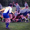 Rough n Tumble Rebecca Campbell<br /> That lad in the centre facing the camera with his arm up really grabs your attention and draws you into the image. The action is this image is well portrayed and is accentuated by the stance of the ref.<br /> Accepted  Novice