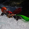 Wild Water Barbara Lee<br /> A good action shot which would also have worked in another way had movement been shown using a slow shutter speed. This is a great shot; wonderful cropping, crisp colour and detail, great expression and angles.<br /> Honours  A grade