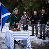 Blessing the Haggis<br /> An interesting story being told in this image and the expressions add to the intrigue, leaving the viewer wondering what the rest of the story is; I wonder if a wider angle to incorporate more of the scene would help.<br /> Not Accepted 048 A grade