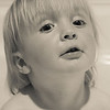 Dexter in the bath 	Bevin Young Novice<br /> A beautiful child study, lovely soft skin tones and a really natural expression on Dexter's face make this one to hang on the wall. Nicely cropped. If you have the computer skills I would suggest you lighten the shadow around his neck but still a lovely image.	HONS