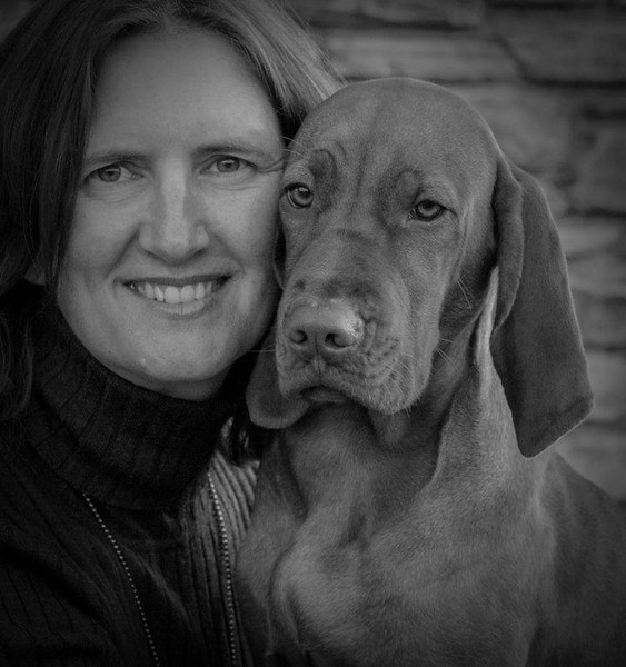 My Best Friend Jacquie Scott A<br /> A lovely portrait which shows both the lady and the dog in a relaxed and pleasant pose, and it shows the ease of companionship between the two. The monochrome treatment works well and the catch-lights in their eyes bring life to the image.  Honours