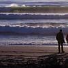 Day's End, Hokitika Beach - Rebecca Campbell