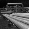 Pipe Lines, Wairakei Power Station - Rod McLeod