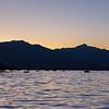 Black Peak sunset