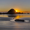 050 – MONKEY ISLAND AT SUNSET by Barbara Lee