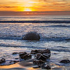 MOERAKI SUNRISE by Allan Hogan