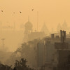 Early Morning Old Delhi Town By Allen Hogan
