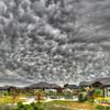 Mammaatus Clouds over Wanaka by John Wattie