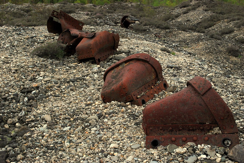 Dredge Buckets – Allan Ford