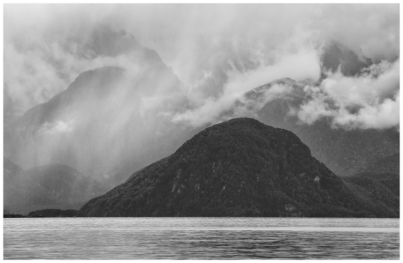 Mountains at Lake Manapouri – Rod Macleod