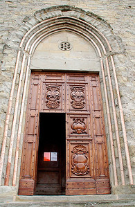 Cortona, Italy Church Doors