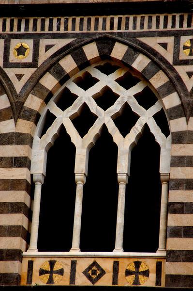 Window Detail---Amalfi, Italy Duomo