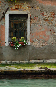 Grand Canal Window---Venice